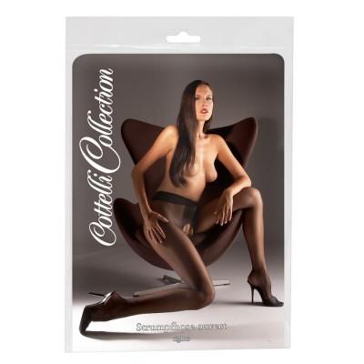 COLLANT APERTI SEXY Crotchless Tights black 2 L