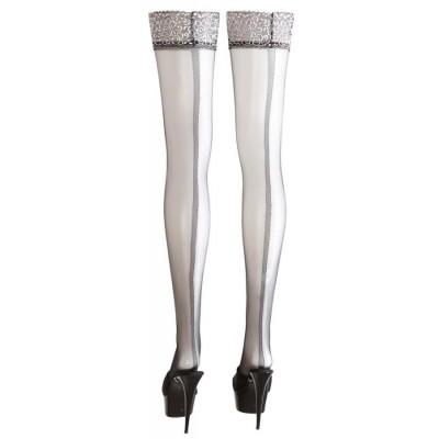 CALZE AUTOREGGENTI Stockings with Seam 3