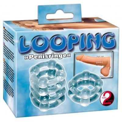 2 ANELLI FALLICI Silicon Ringeset Looping