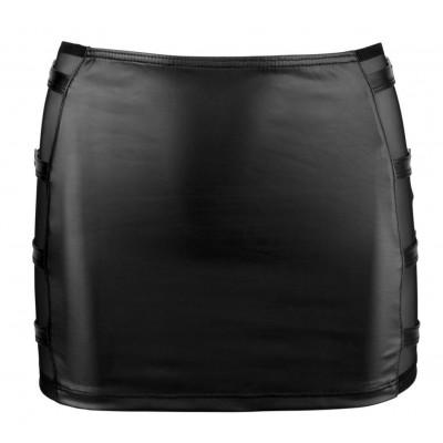 MINIGONNA Skirt with Buckles L