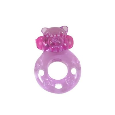 ANELLO FALLICO Power Ring Bear Func.1 Pink