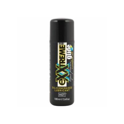 Lubrificante Siliconico Hot Exxtreme GLIDE 100ML+Comfort OIL A+
