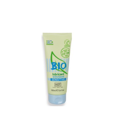 LUBRIFICANTE HOT BIO LUBRICANT WATER.SENSITIVE 100ml