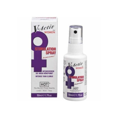 SPRAY STIMOLANTE PER LEI HOT V-ACTIV STIMULATOR SPRAY 50 ML