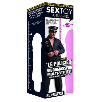 VIBRATORE REALISTICO SEX APPEAL -LE POLICIER- DORCEL