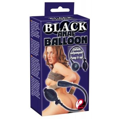 GONFIABILE Black Anal Balloon