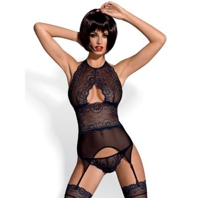 COMPLETO SEXY Oriens corset & thong L/XL