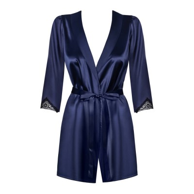 VESTAGLIA Satinia robe L/XL navy blue