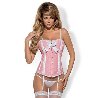 COMPLETO SEXY ABBINATO Dottie corset & thong XXL