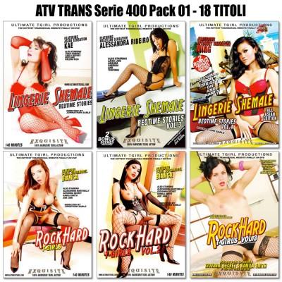 ATV TRANS SERIE 400 PACK1 - 18 DVD