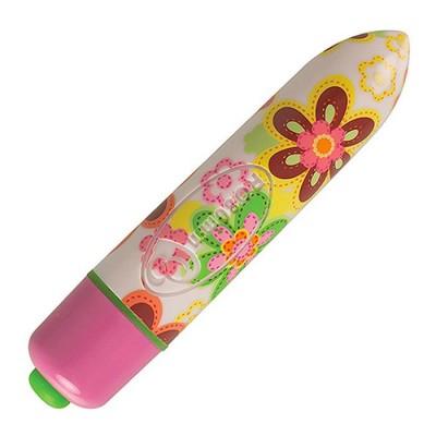 "VIBRATORE MINI ""RO-80 7 Speed Flower Print"""