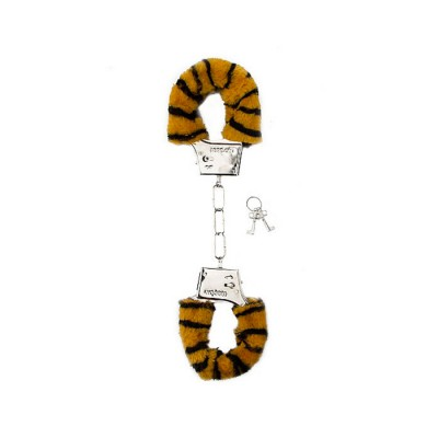 MANETTE MORBIDE Furry Handcuffs - Tiger