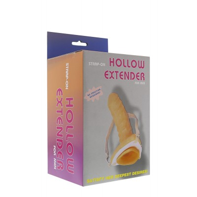 STRAP-ON HOLLOW PROLUNGA PER PENE
