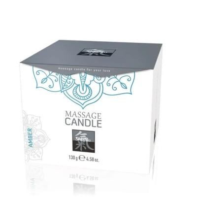 SHIATSU Massage Candle Amber 130g