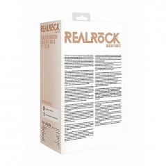 VIBRATORE REALISTICO Realrock Vibrating Dildo con palle