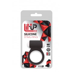 Anello Fallico LIT-UP STIMU RING 3 BLACK