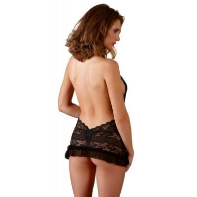 ABITO SEXY Lace Dress black M