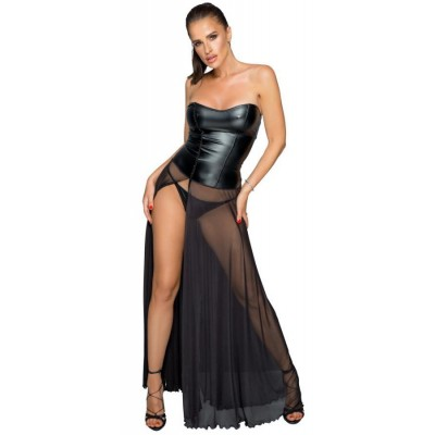 ABITO LUNGO SEXY Kleid lang L