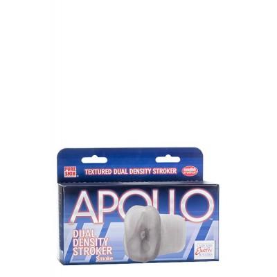 MASTURBATORE APOLLO DUAL DENSITY STROKER - SMOKE